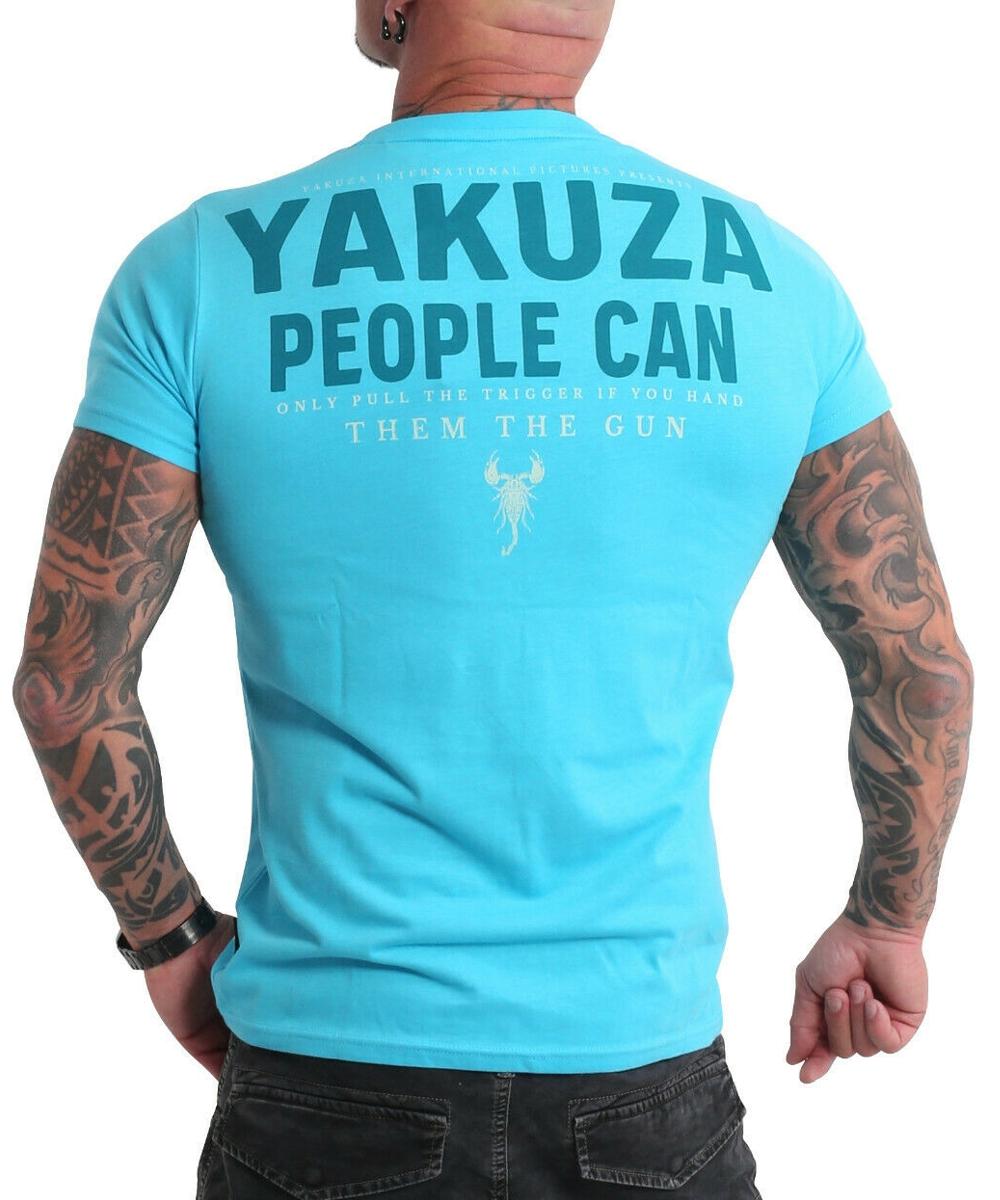 Yakuza People T-Shirt TSB-19026 blue atoll