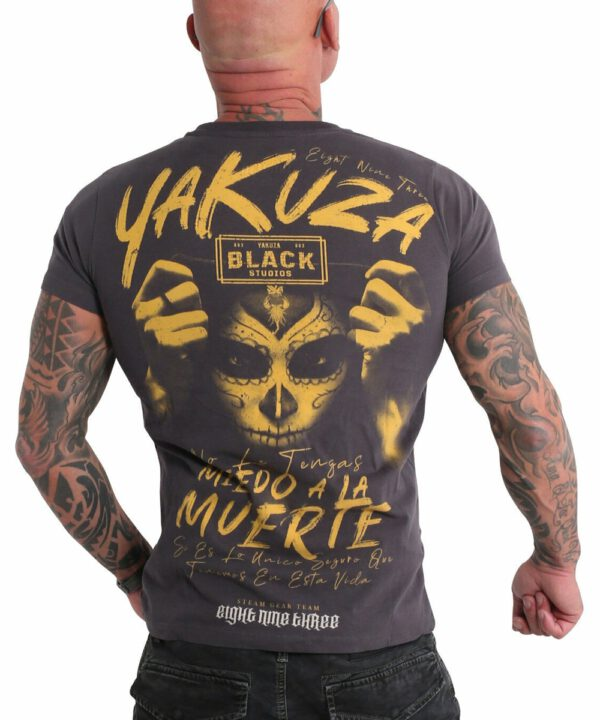 Yakuza Miedo T-Shirt TSB-19036 anthrazit