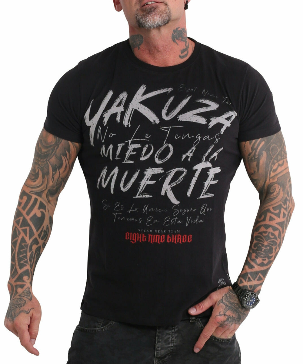 Yakuza Miedo T-Shirt TSB-19036 black