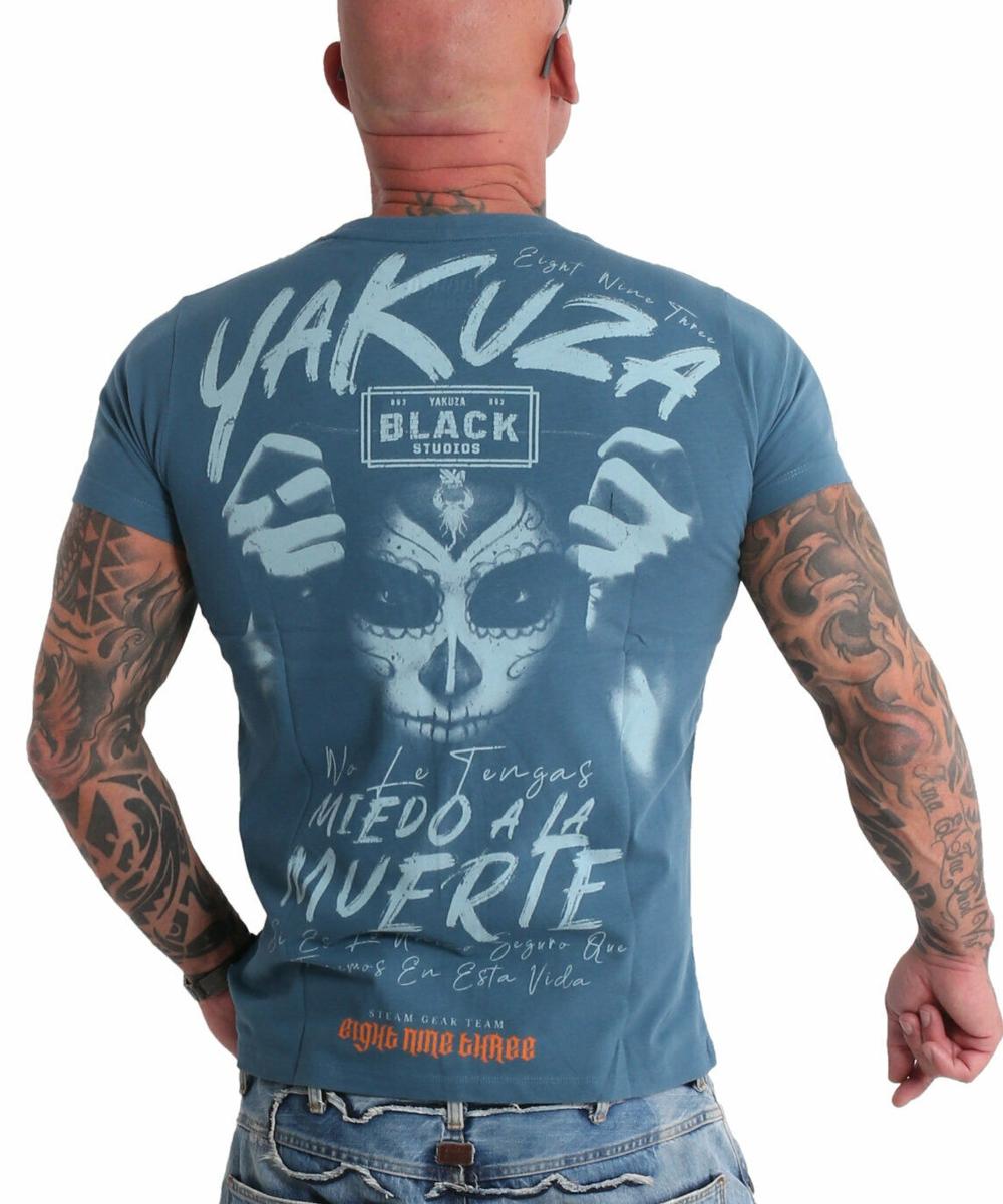 Yakuza Miedo T-Shirt TSB-19036 mallard blue