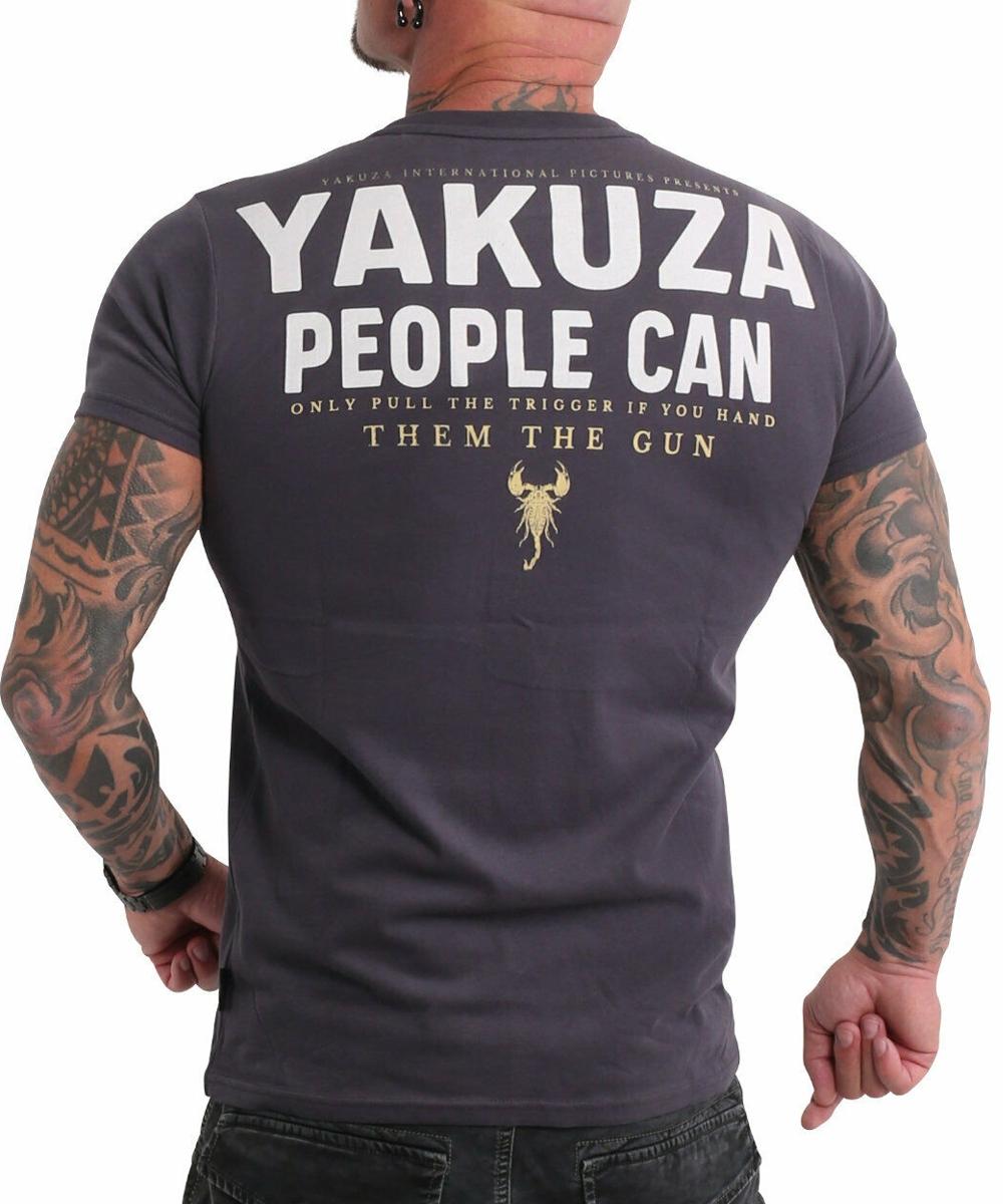 Yakuza People T-Shirt TSB-19026 anthrazit